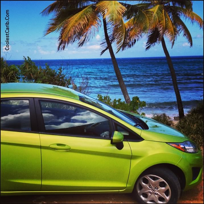 Cane Bay, Olympic Rent-A-Car, St. Croix, USVI