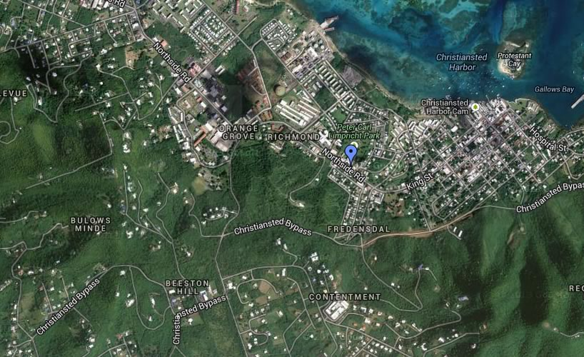 static-map-olympic-rent-a-car-st-croix-us-virgin-islands